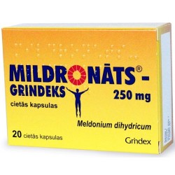 Mildronate Grindex 20x250mg